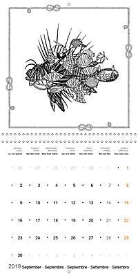Ocean Lost by Sophie Mama (Wall Calendar 2019 300 × 300 mm Square) - Produktdetailbild 9