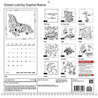 Ocean Lost by Sophie Mama (Wall Calendar 2019 300 × 300 mm Square) - Produktdetailbild 13