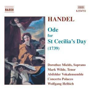 Ode For St. Cecilia's Day, Helbich, Alsfelder Vokalensemble