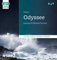 Odyssee, 2 MP3-CDs, Homer