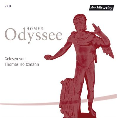 Odyssee, 6 Audio-CDs, Homer