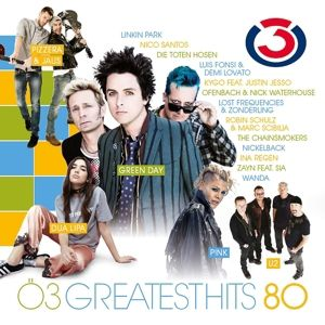 Ö3 Greatest Hits Vol. 80, Diverse Interpreten