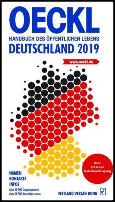 OECKL. Handbuch des Öffentlichen Lebens - Deutschland 2019