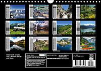 Österreich. Grüße vom Land der Berge und Seen (Wandkalender 2019 DIN A4 quer) - Produktdetailbild 13