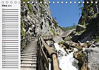 Österreich. Grüße vom Land der Berge und Seen (Tischkalender 2019 DIN A5 quer) - Produktdetailbild 3