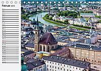 Österreich. Grüße vom Land der Berge und Seen (Tischkalender 2019 DIN A5 quer) - Produktdetailbild 2
