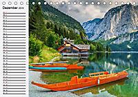 Österreich. Grüße vom Land der Berge und Seen (Tischkalender 2019 DIN A5 quer) - Produktdetailbild 12