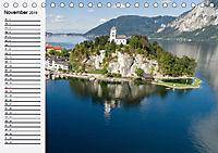Österreich. Grüße vom Land der Berge und Seen (Tischkalender 2019 DIN A5 quer) - Produktdetailbild 11