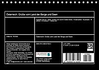 Österreich. Grüße vom Land der Berge und Seen (Tischkalender 2019 DIN A5 quer) - Produktdetailbild 13