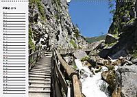 Österreich. Grüße vom Land der Berge und Seen (Wandkalender 2019 DIN A2 quer) - Produktdetailbild 3