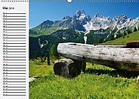Österreich. Grüsse vom Land der Berge und Seen (Wandkalender 2019 DIN A2 quer) - Produktdetailbild 5