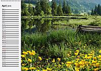 Österreich. Grüße vom Land der Berge und Seen (Wandkalender 2019 DIN A2 quer) - Produktdetailbild 4