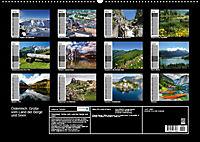 Österreich. Grüße vom Land der Berge und Seen (Wandkalender 2019 DIN A2 quer) - Produktdetailbild 13
