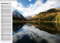 Österreich. Grüße vom Land der Berge und Seen (Wandkalender 2019 DIN A3 quer) - Produktdetailbild 9