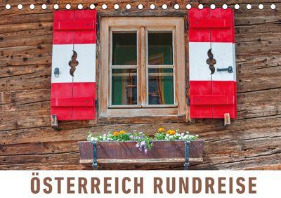Österreich Rundreise (Tischkalender 2019 DIN A5 quer), Martin Ristl