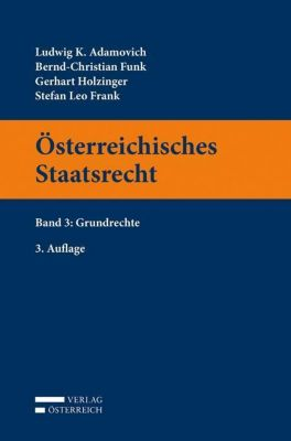 Österreichisches Staatsrecht Band 03
