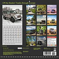 Off the Beaten Tracks through Europe (Wall Calendar 2019 300 × 300 mm Square) - Produktdetailbild 13