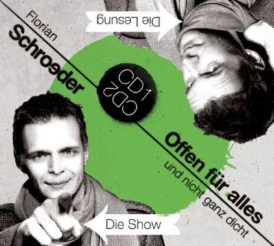 Offen für ALLES, Live-Mitschnitt, 2 Audio-CDs, Florian Schroeder