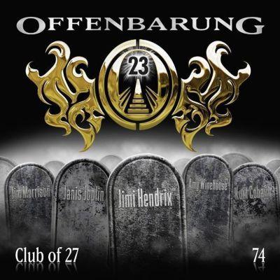 Offenbarung 23 - Club of 27, Audio-CD, Catherine Fibonacci