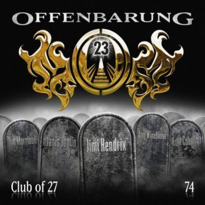 Offenbarung 23: Offenbarung 23, Folge 74: Club of 27, Catherine Fibonacci