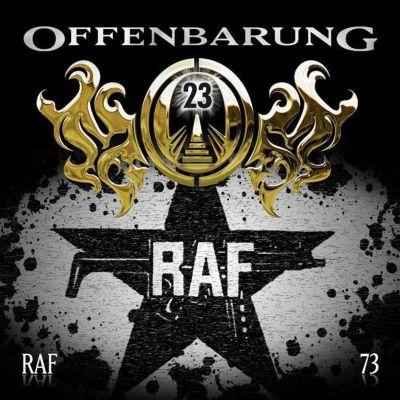 Offenbarung 23 - RAF, Audio-CD, Catherine Fibonacci