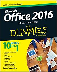 Office 2016 for Dummies Book + Videos Bundle by Wallace Wang (English) Paperback
