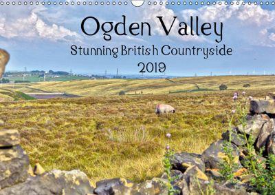 Ogden Valley Stunning British Countryside 2019 (Wall Calendar 2019 DIN A3 Landscape), WT images