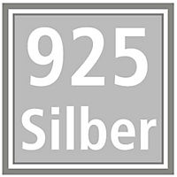 """Ohrstecker """"Elina"""" 925er Silber, mit Zirkonia - Produktdetailbild 2"""