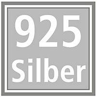 """Ohrstecker-Set """"Zahra"""", 925er Silber (Edelsteine: Türkis und Onyx) - Produktdetailbild 2"""