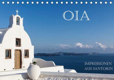 OIA - Impressionen aus Santorin (Tischkalender 2019 DIN A5 quer), Hans Pfleger