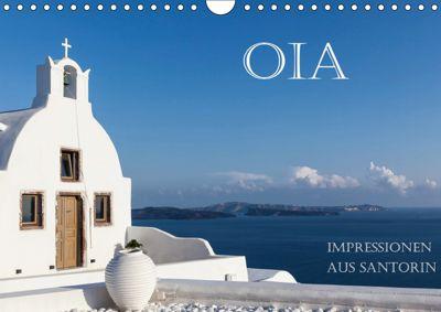 OIA - Impressionen aus Santorin (Wandkalender 2019 DIN A4 quer), Hans Pfleger