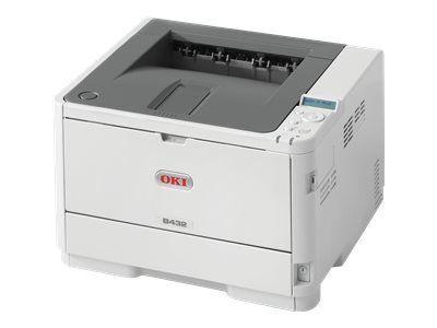 OKI B432dn monochrom LED printer A4 24,5 x 38,7 x 36,4