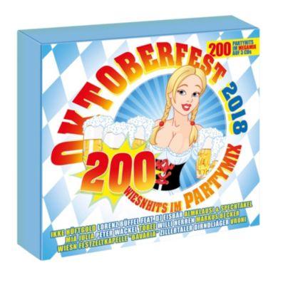 Oktoberfest 2018 - 200 Wiesnhits im Megamix (3 CDs), Various