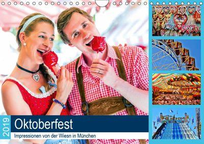 Oktoberfest 2019. Impressionen von der Wiesn in München (Wandkalender 2019 DIN A4 quer), Steffani Lehmann