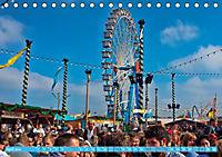Oktoberfest München - o'zapft is (Tischkalender 2019 DIN A5 quer) - Produktdetailbild 4