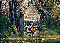 Old cabins in Germany - Vintage style (Wall Calendar 2019 DIN A3 Landscape) - Produktdetailbild 1