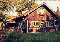 Old cabins in Germany - Vintage style (Wall Calendar 2019 DIN A3 Landscape) - Produktdetailbild 3
