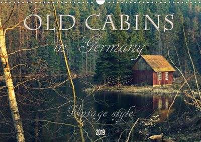 Old cabins in Germany - Vintage style (Wall Calendar 2019 DIN A3 Landscape), Flori0