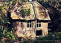 Old cabins in Germany - Vintage style (Wall Calendar 2019 DIN A3 Landscape) - Produktdetailbild 7