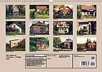 Old cabins in Germany - Vintage style (Wall Calendar 2019 DIN A3 Landscape) - Produktdetailbild 13
