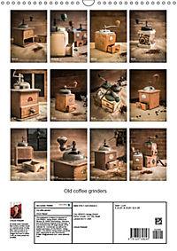 Old coffee grinders (Wall Calendar 2019 DIN A3 Portrait) - Produktdetailbild 13
