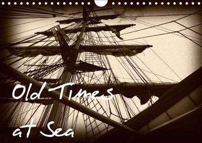 Old Times at Sea / UK Version (Wall Calendar 2019 DIN A4 Landscape), Angelika Kimmig