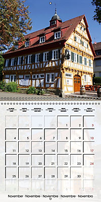 Old Town Halls in Germany (Wall Calendar 2019 300 × 300 mm Square) - Produktdetailbild 11