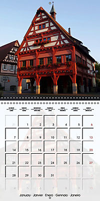 Old Town Halls in Germany (Wall Calendar 2019 300 × 300 mm Square) - Produktdetailbild 1
