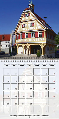 Old Town Halls in Germany (Wall Calendar 2019 300 × 300 mm Square) - Produktdetailbild 2