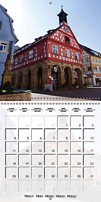 Old Town Halls in Germany (Wall Calendar 2019 300 × 300 mm Square) - Produktdetailbild 3
