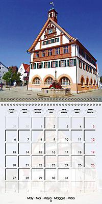 Old Town Halls in Germany (Wall Calendar 2019 300 × 300 mm Square) - Produktdetailbild 5