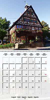 Old Town Halls in Germany (Wall Calendar 2019 300 × 300 mm Square) - Produktdetailbild 8