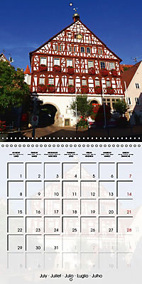 Old Town Halls in Germany (Wall Calendar 2019 300 × 300 mm Square) - Produktdetailbild 7