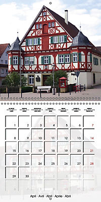 Old Town Halls in Germany (Wall Calendar 2019 300 × 300 mm Square) - Produktdetailbild 4